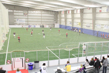Indoor Soccer Field at Lost Nation Sports Park