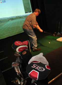 Indoor Golf at Lost Nation Sports Park
