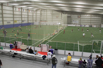 Indoor Turf Fields at Lost Nation Sports Park